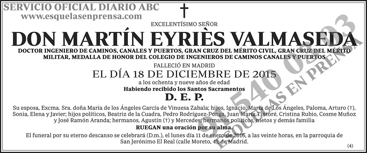 Martín Eyriès Valmaseda